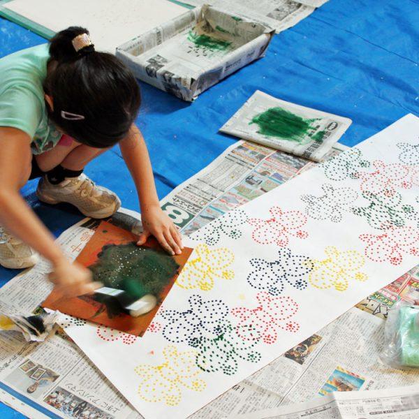 子どもにもっとアート体験を!福島市で子ども対象のアートプログラムを集めましたの画像
