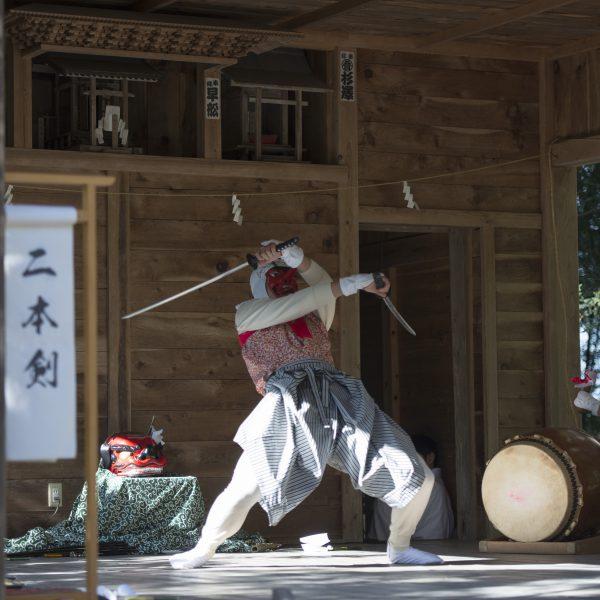 転入女性のtentenだよりコラム5月号「福田十二神楽 子どもたちが伝統守る(福島県新地町)」の画像