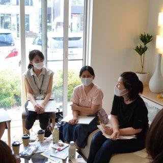 【開催報告】2020.7.20転入女性のしゃべり場tenten cafe@積水ハウス福島南展示場(福島市)の画像