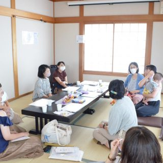 【開催報告】2020.9.9 転入女性のしゃべり場tenten mama cafe@ふくしま信陵子育て支援センターぽれぽれ(福島市)の画像