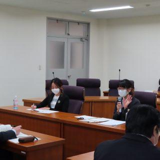 【活動報告】2020.11.9県議会の委員会視察を受けましたの画像